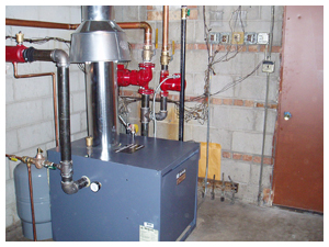 residential boiler heating boiler